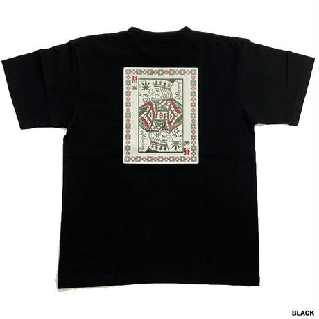 ROYAL MAJESTY -【SMOKE KING TRUMP Tシャツ- BLACK】