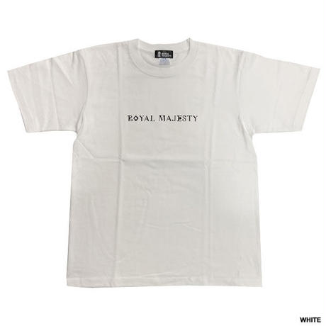 ROYAL MAJESTY -【SMOKE KING TRUMP Tシャツ- WHITE】