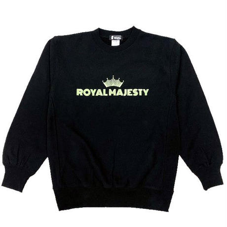 ROYAL MAJESTY -【CROWN LOGO SWEAT 〜Phosphorescent Ink〜】