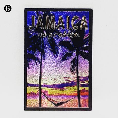 ジャマイカ輸入品🇯🇲マグネット - [縦向き6種類]