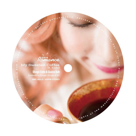 FRANKIE PARIS - 【SWEET FOR YOUR COFFEE 12inch レコード】