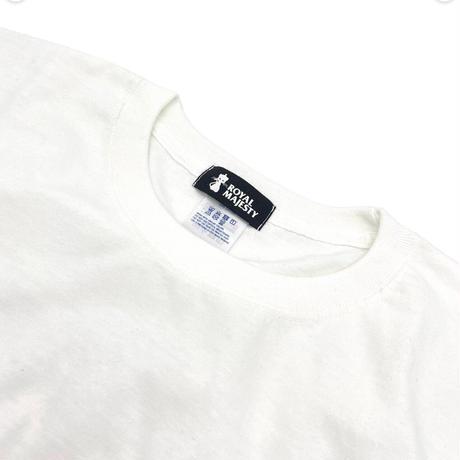 ROYAL MAJESTY ペイント ロングTシャツ [ホワイト]