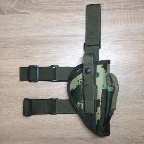 【右利き用】92式拳銃用ホルスター07式武警夏迷彩 ナイロン素材