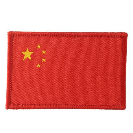 中国 国旗ワッペン タイプA
