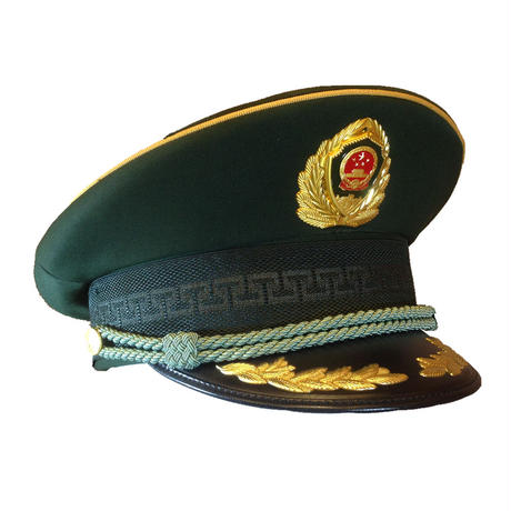中国人民武装警察07式制帽 武警軍官(帽章付き)