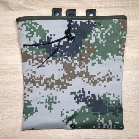 中国人民解放軍 07式林地迷彩 ドロップマガジン ダンプポーチ タクティカル