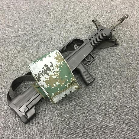 中国人民解放軍 95-1式自動歩銃用薬莢受けポーチ 林地迷彩
