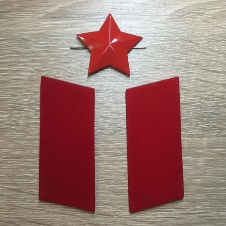 中国人民解放軍78式 襟章&帽章セット(複製品)