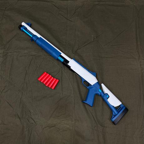 【UDL・XM1014】スポンジダーツ・単発式ポンプアクションショットガン