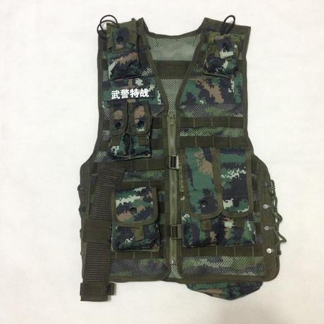 中国武装警察特戦 13式迷彩 戦術背心 ベストセット(レプリカ)