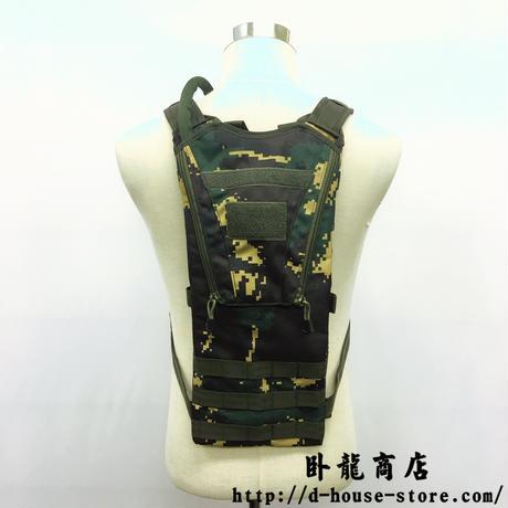 中国人民解放軍07A-1式 単兵飲水リュック(猟人迷彩) 特種部隊 特種兵