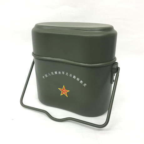 【実物】中国人民解放軍 単兵餐具 飯盒セット
