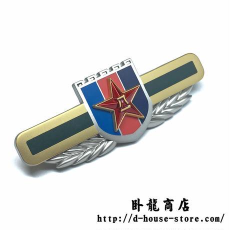 【15式中央軍委】中国人民解放軍制服用金属製胸章