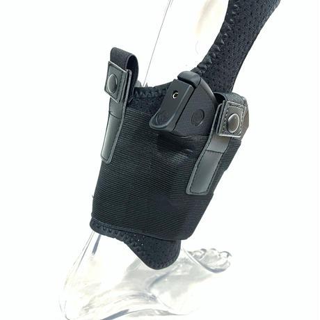 小型拳銃用 レッグホルスター 左右兼用