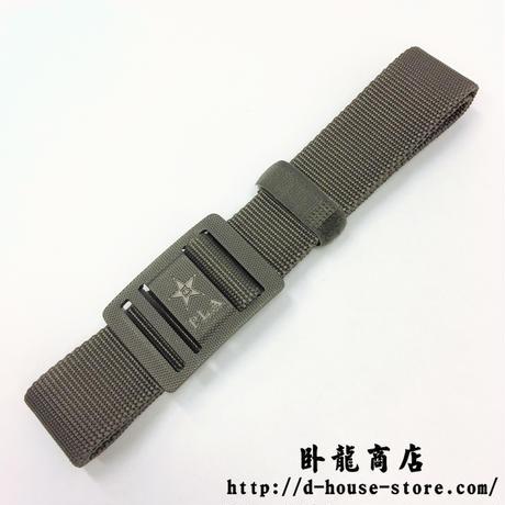 中国人民解放軍 17式 ナイロン製ベルト 迷彩服用 左利き使用可能