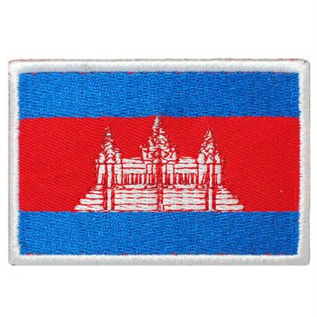 カンボジア 国旗ワッペン