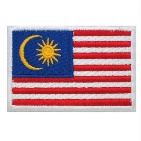 マレーシア 国旗ワッペン