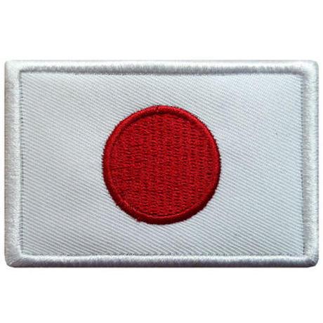 日本 国旗ワッペン