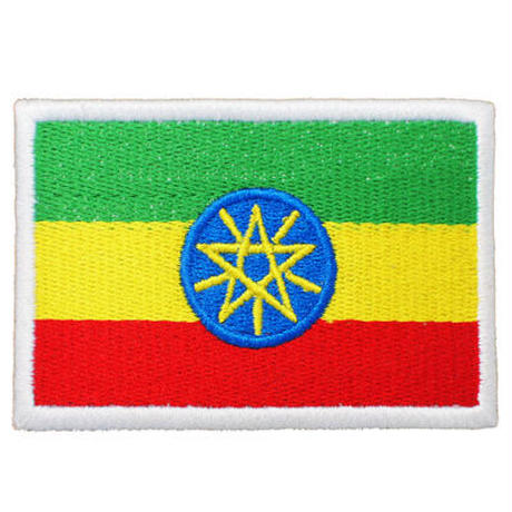エチオピア 国旗ワッペン