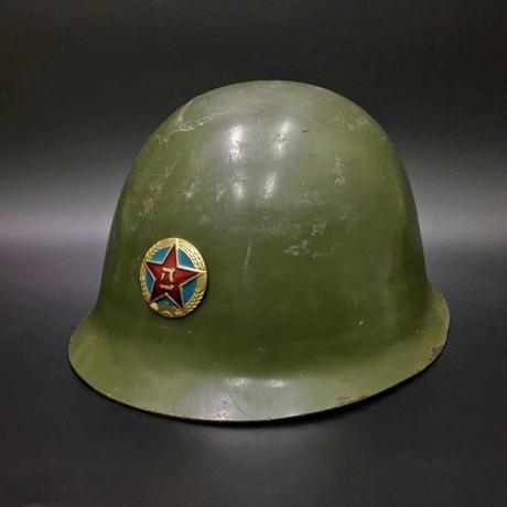 【実物】GK80 ヘルメット 帽章付きバージョン 本職使い済み中古品
