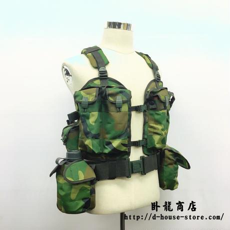 中国人民解放軍01式戦闘携行具 ポーチ付きセット