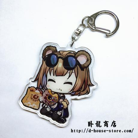 【少女前線】GRIZZLY 擬人キャラクター キーホルダー