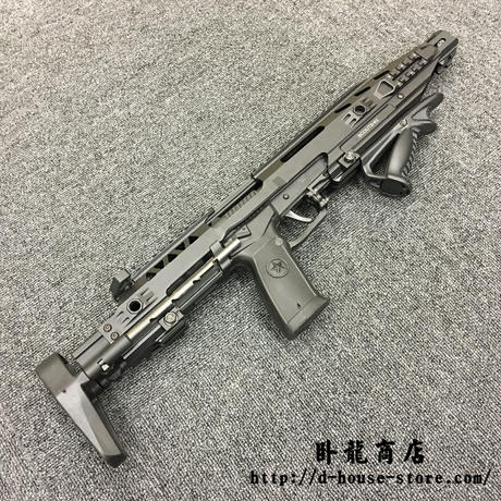 【1点もの】 実物新品QSZ92式拳銃用カービンキット グリップ付き