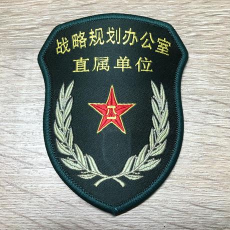 【戦略計画弁公室 直属単位】中国人民解放軍 15式 中央軍委部隊章