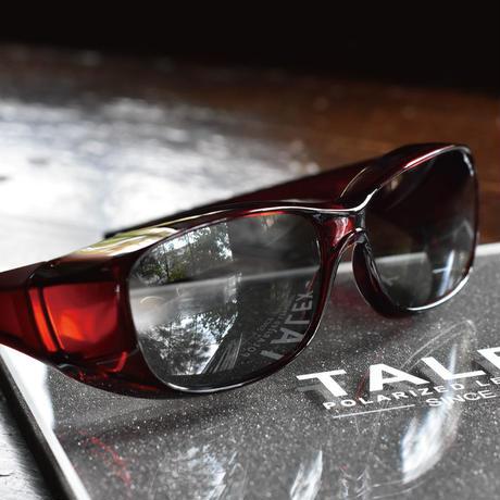 TALEXオリジナルオーバーグラス(レッド/マットレッド)EM6-D0307(トゥルービュー)