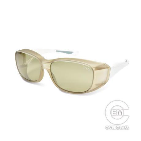 EMCオーバーグラス【マットライトブラウン】×【パールホワイト】EM6-D03C15(トゥルービュースポーツ)