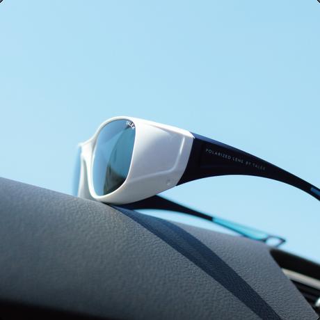 EMCオーバーグラス【パールホワイト】×【メタリックネイビー】EM6-D03C06(トゥルービューフォーカス)