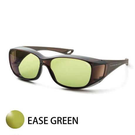 TALEXオリジナルオーバーグラス(グロスダークブラウン/マットブラウン)EM6-D0304(イーズグリーン)