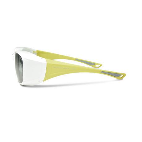 EMCオーバーグラス【パールホワイト】×【イエロー】EM6-D03C02(トゥルービュー)