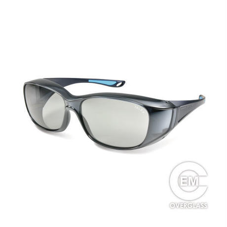 EMCオーバーグラス【グロスダークグレー】×【メタリックネイビー】EM6-D03C10(トゥルービュー)