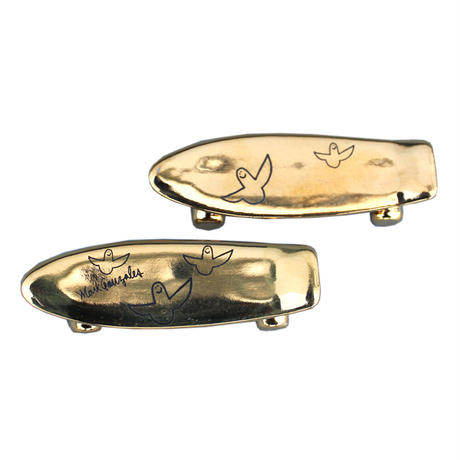 Mark Gonzales / Pika Pika skate board chopstick rest (gold)