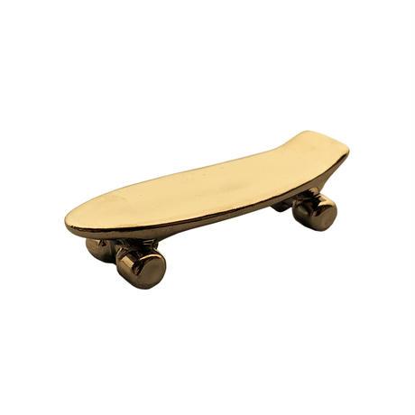 Pika Pika Skateboard chopstick rest (gold)