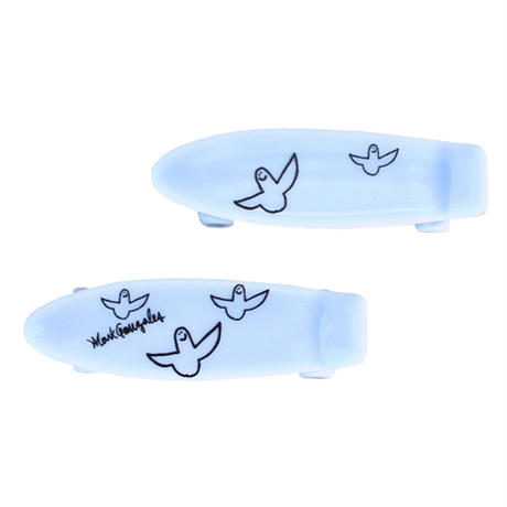 Mark Gonzales / skate board chopstick rest (blue)