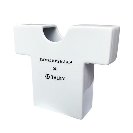 Shmiley Shaka T-vace/White×Black