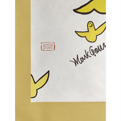 Mark Gonzales × TALKY 掛け軸  <yellow ×  color angel >