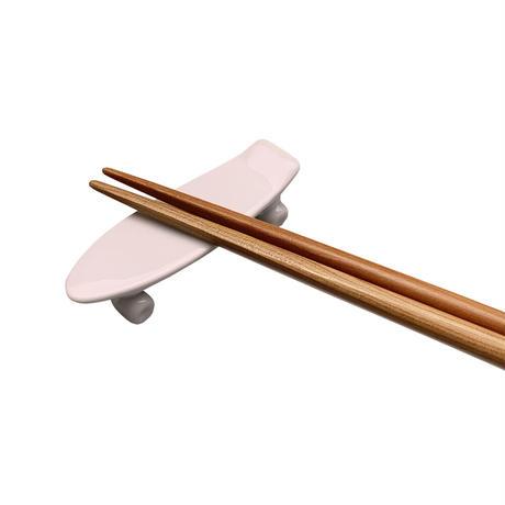 skate board chopstick rest (pink)