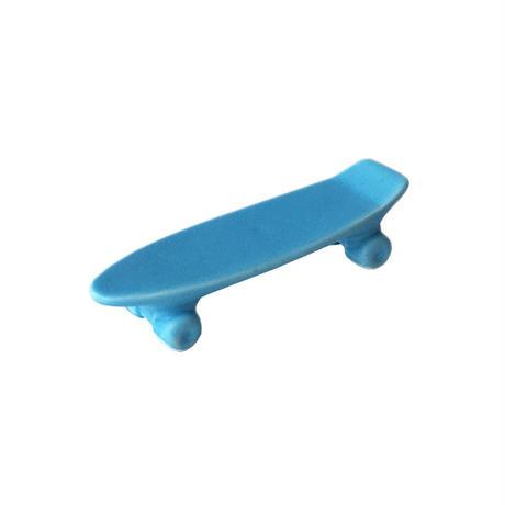 skate board chopstick rest (mat blue)
