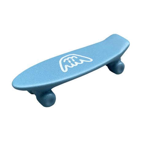 Shmiley Shaka Skate Board Chopstick Rest /Mat Blue×White