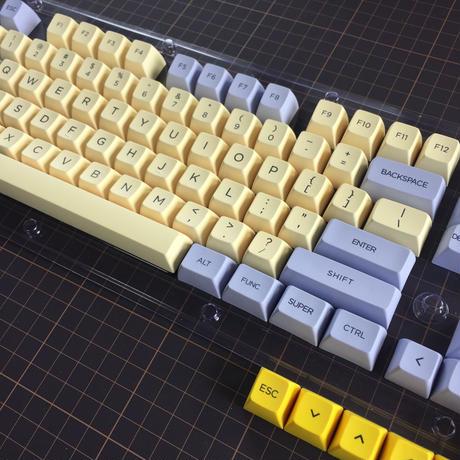 SA Lily Dye-sub PBT Keycaps set (87Key/Planck Key)