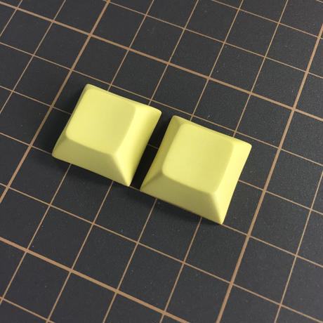 DSA PBT Keycap (2Piece/76Yellow)