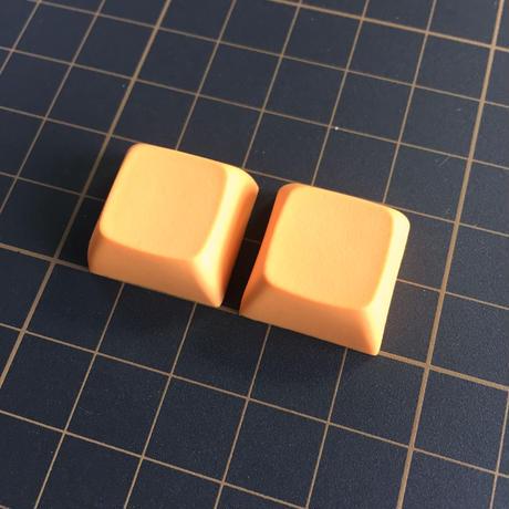 XDA Blank Keycap (2Pieces/Orange)