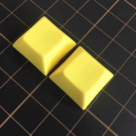 DSA PBT Keycap (2piece/Yellow)