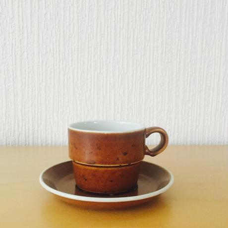 Gustavsberg/グスタフスベリ/COQ/コック/コーヒーカップ&ソーサー/CS-01