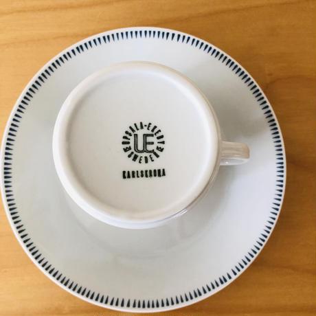 Uppsala Ekeby Karlskrona/ウプサラエケビー,カールスコーナ/Sylvia/シルビア/カップ&ソーサー