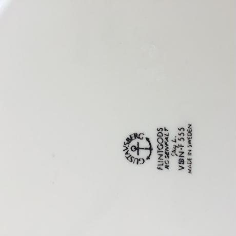 Gustavsberg/グスタフスベリ/Rosenfelt/ローゼンフェルト/プレート/21-02/ブラック