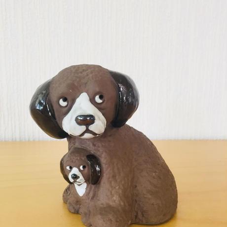 Torekov Keramik/トレコブセラミック/ワンコの親子